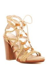 Groove Addison Braided Chunky Sandal Brown