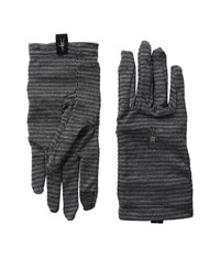 Smartwool Nts Mid 250 Pattern Gloves Black Wool Gloves