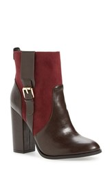 Athena Alexander Women's 'Layla' Boot Burgundy Suede