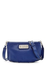 Marc By Marc Jacobs Percy Leather Crossbody Blue