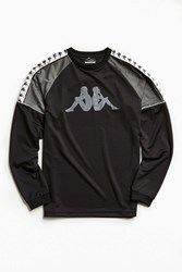 Kappa Hamden Long Sleeve Tee Black