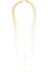 Arme De L'amour Sphere Gold Plated Necklace