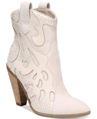 Carlos By Carlos Santana Sterling Western Booties Women's Shoes Winter White