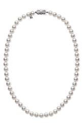 Mikimoto Akoya Cultured Pearl Short Necklace Akoya Pearl