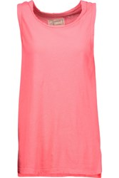 Current Elliott The Muscle Tee Cotton Tank Bubblegum