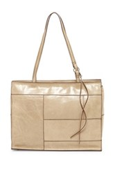 Hobo Valerie Leather Tote Beige