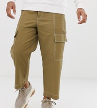 Noak Cargo Trousers In Stone