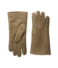 Hestra Sheepskin Gloves Beige Dress Gloves