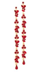 Adia Kibur Isabella Earrings Red
