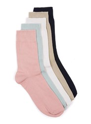 Topman Multi Assorted Colour Socks 5 Pack