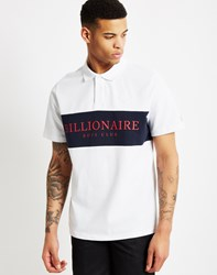 Billionaire Boys Club Monaco Polo Shirt White