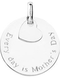 Links Of London Mothers Day Sterling Silver Disc Charm