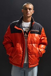 Nautica Uo Competition Puffer Jacket Orange