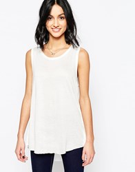 Only Sleeveless Shirt White