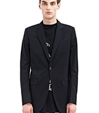 Thamanyah Single Breasted Jacket Black
