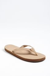 Rainbow Narrow Strap Sandal Women Sierra Brown
