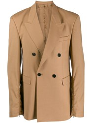 Cmmn Swdn Double Breasted Blazer Neutrals