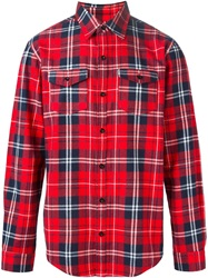 Les Artists Les Art Ists Tartan 'Margiela 57' Shirt Red