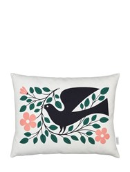 Vitra Dove Graphic Printed Accent Pillow
