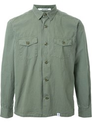 Bedwin And The Heartbreakers Button Down Shirt Green