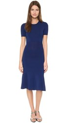 Yigal Azrouel Short Sleeve Knit Dress Concord