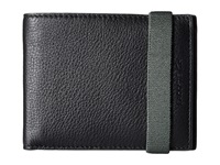 Lacoste Classic Premium Small Billfold Black Deep Forest Bill Fold Wallet