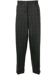 Kolor Tapered Checked Trousers 60
