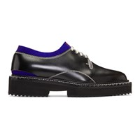 Oamc Black And Blue Cutaway Oxfords