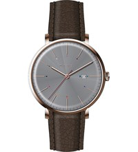 Paul Smith P10083 Track Rose Gold Plated Stainless Steel And Leather Watch