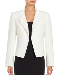 Tahari By Arthur S. Levine Knit Blazer Cloud