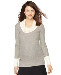 A Pea In The Pod Maternity Cowl Neck Sweater