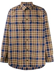 Tom Wood Checked Button Down Shirt 60
