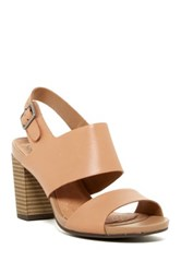 Clarks Banoy Tulia Ankle Strap Sandal Wide Width Available Beige