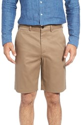 Nordstrom Men's Big And Tall Men's Shop Smartcare Tm Flat Front Shorts Taupe