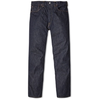 Rrl Low Straight Selvedge Jean Once Washed