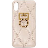 Givenchy Pink Diamond Quilted Iphone Xs X Case