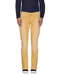 Oaks Denim Denim Trousers Men Yellow