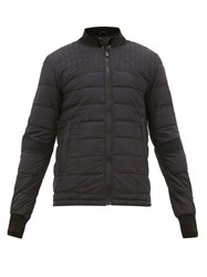 Canada Goose Dunham Quilted Down Ripstop Bomber Jacket Black