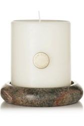 Tom Dixon Stone Pillar Candle Set One Size Colorless