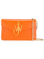 J.W.Anderson Gold Tone Hardware Shoulder Bag Yellow Orange