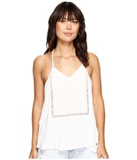 Roxy Prism Pattern Top Marshmallow Women's Sleeveless Blue