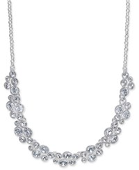 Charter Club Silver Tone Crystal Necklace Only At Macy's