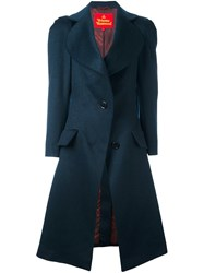 Vivienne Westwood Red Label Leg Of Mutton Sleeve Coat Blue