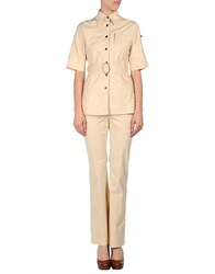 Diana Gallesi Suits And Jackets Outfits Women Beige