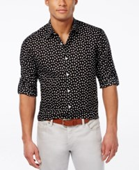 Inc International Concepts Men's Cosgrove Long Sleeve Shirt Only At Macy's Black