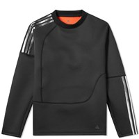 Adidas Consortium X Kolor Spacer Crew Sweat Black