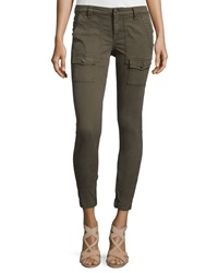 Joie Park Twill Skinny Cargo Pants Fatigue