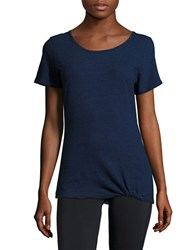 Marc New York Cotton Active Tee Dark Denim