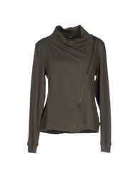 Blauer Topwear Sweatshirts Women Military Green