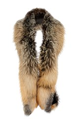 Sally Lapointe Crossfox Stole Brown